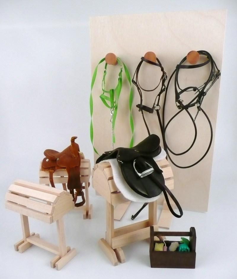 diy saddle rack