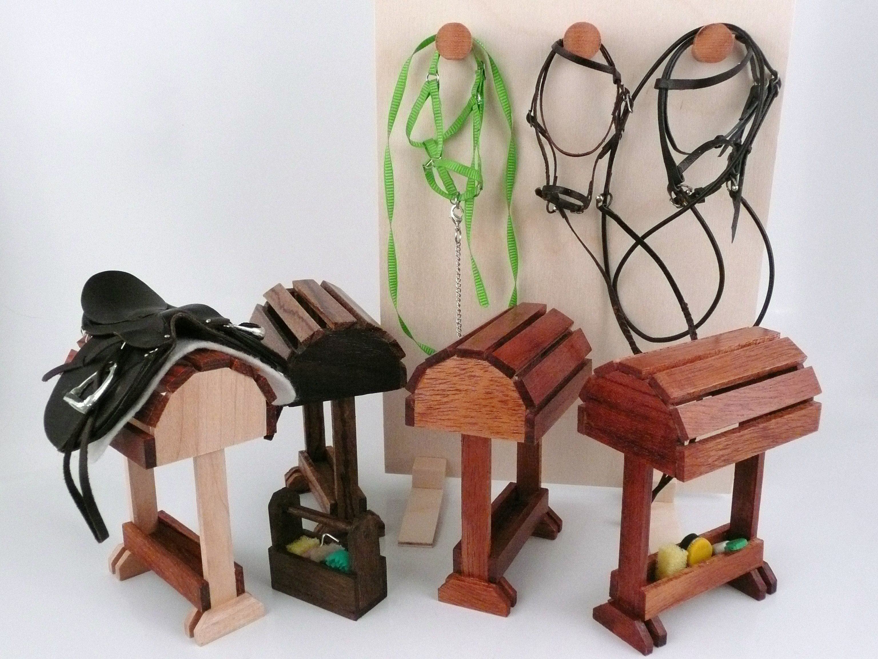 Saddle Stands For Miniature Horse Tack With Bridle Rack